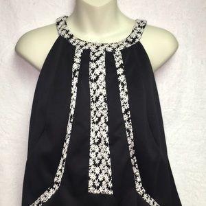 Adrianna Papell Black & White stunner size 16W